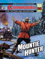 Mountie Hunter, cover by Janek Matysiak