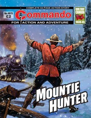 Mountie Hunter, cover by Janek Matysiak