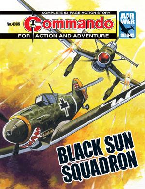 Black Sun Squadron - cover by Carlos Pino