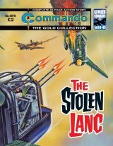 The Stolen Lanc, cover by Ken Barr