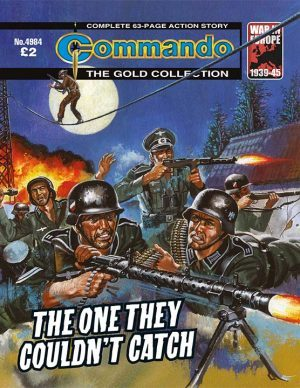 The One They Couldn't Catch, cover by Ken Barr