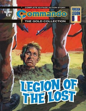 Legion of the Lost, cover by Segrelles