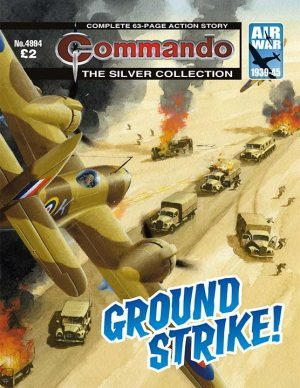 Ground Strike!, cover by Ian Kennedy