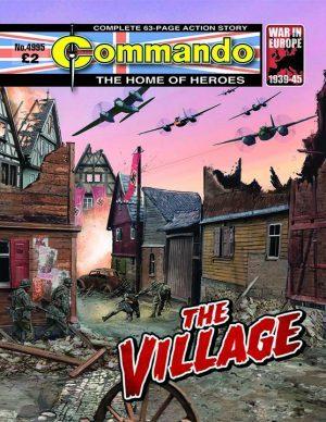 The Village, cover by Janek Matysiak